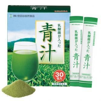 世田谷自然食品の「乳酸菌の入った青汁」
